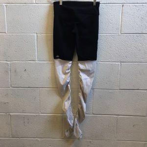 ALO Yoga Pants - Alo yoga black & ivory goddess legging sz s 57445